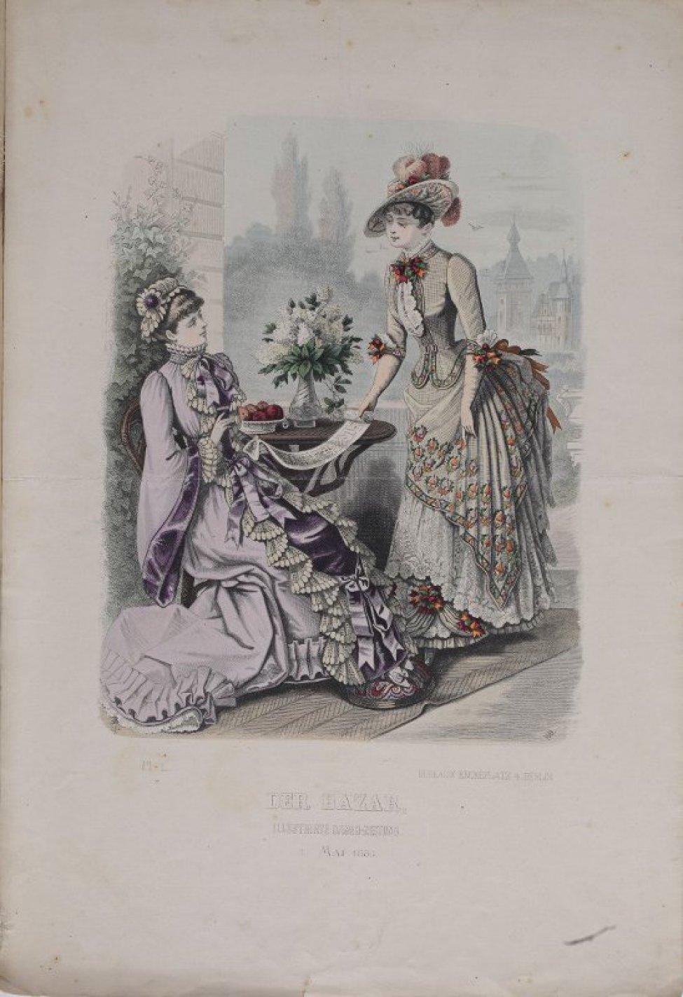 Днем рождения, открытки 1880